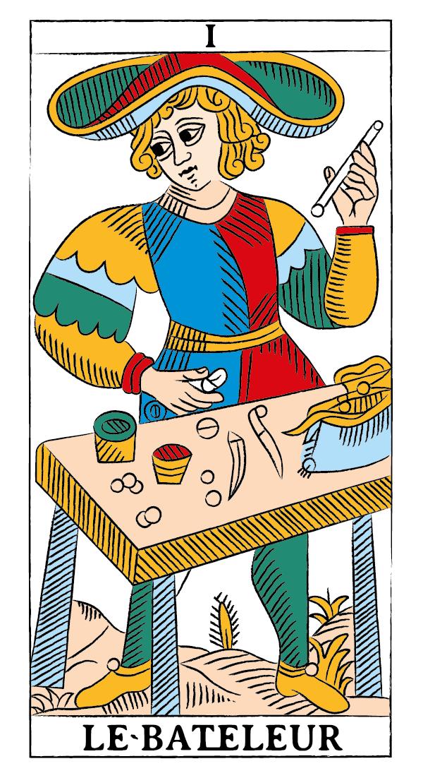 tarocchi di marsiglia francesco guarino bagatto