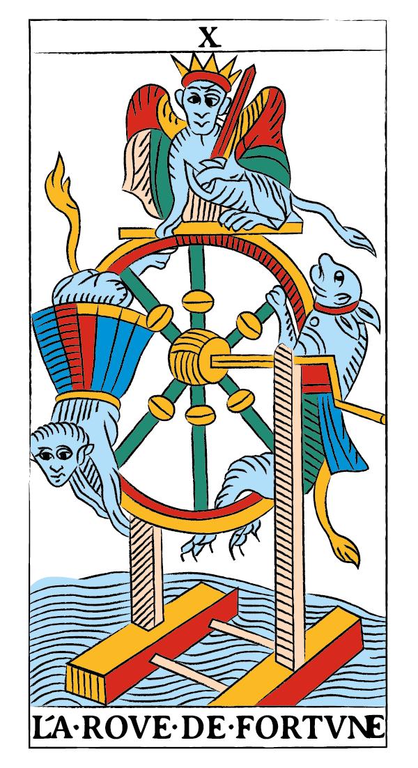 tarocchi di marsiglia francesco guarino ruota di fortuna