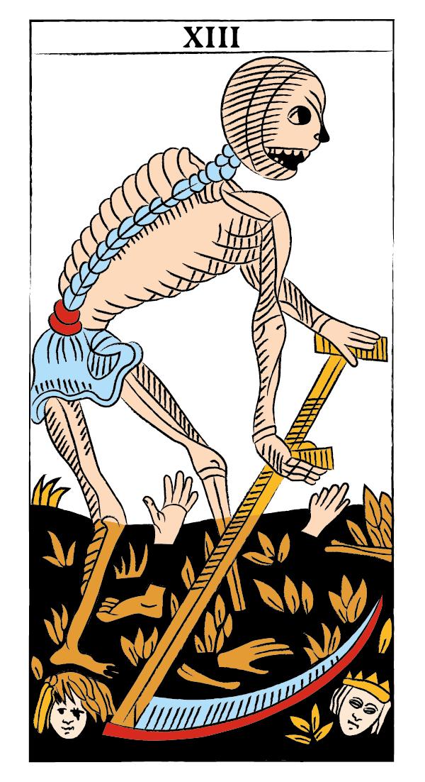 tarocchi di marsiglia francesco guarino innominato morte