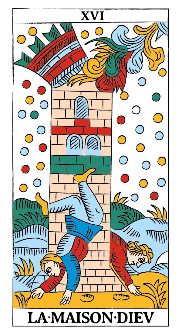 tarocchi di marsiglia francesco guarino casa dio