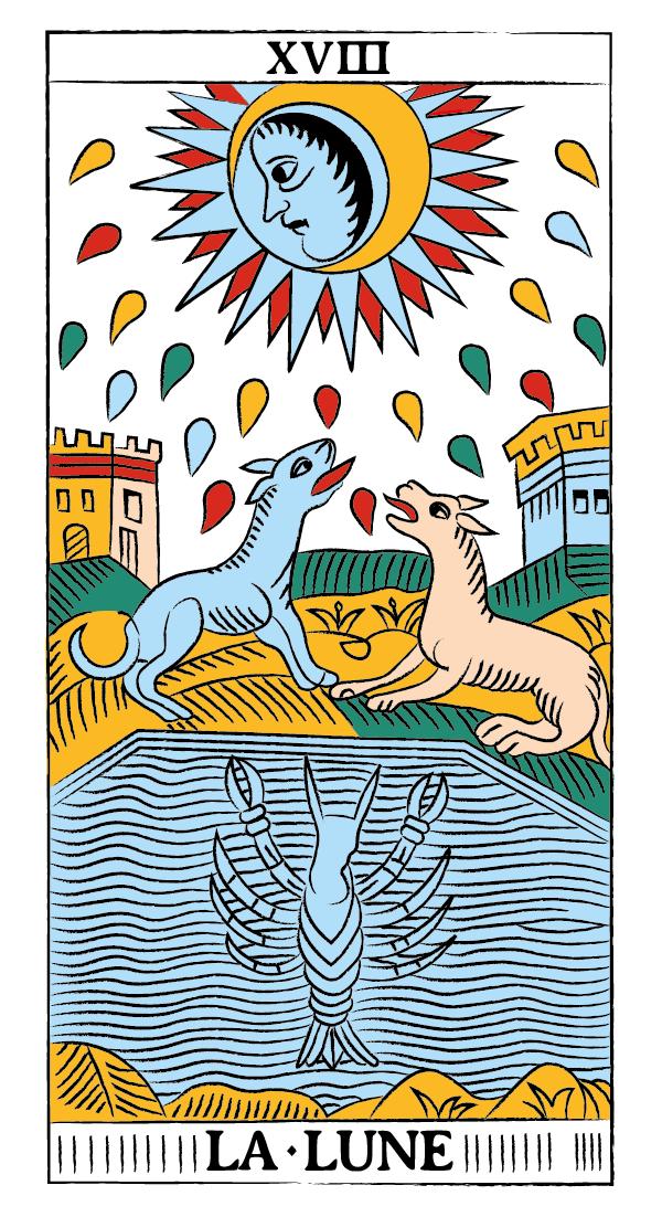 tarocchi di marsiglia francesco guarino luna