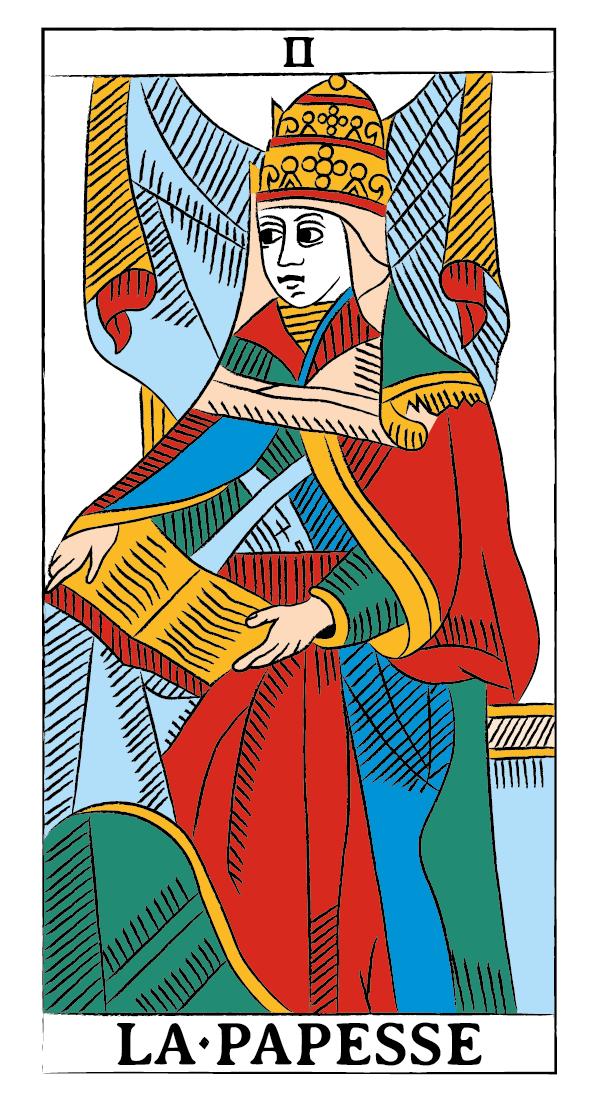 tarocchi di marsiglia francesco guarino papessa