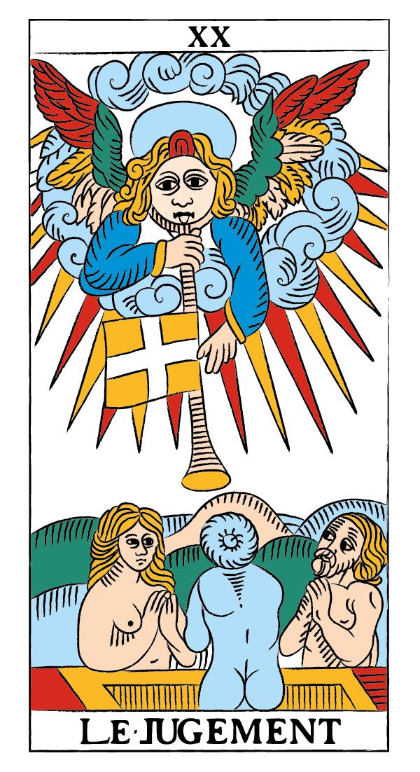 tarocchi di marsiglia francesco guarino giudizio
