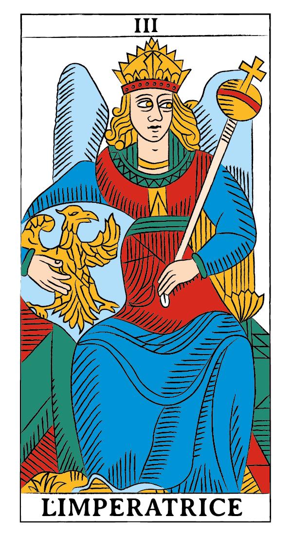 tarocchi di marsiglia francesco guarino imperatrice