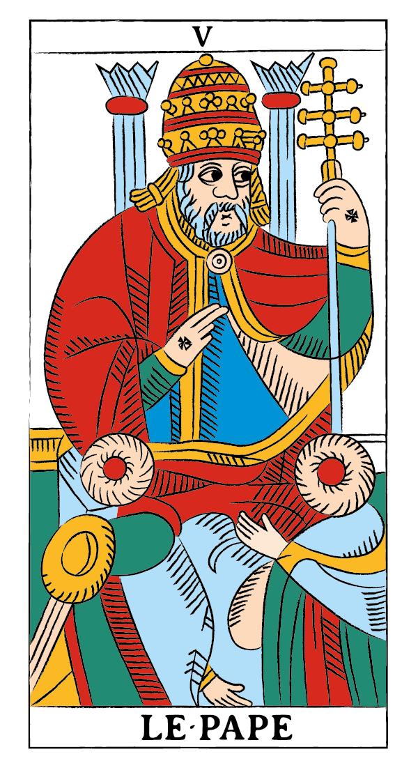 tarocchi di marsiglia francesco guarino papa
