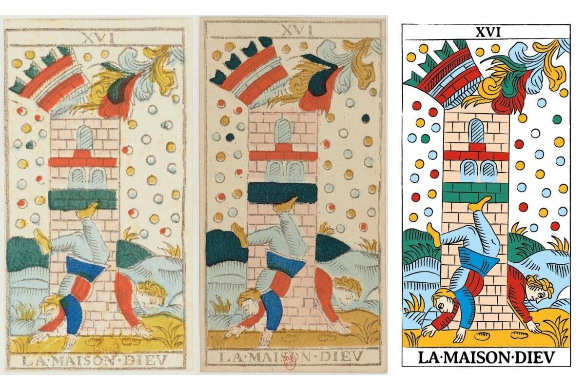 La Casa Dio Conver Guarino Tarocchi di Marsiglia TdM